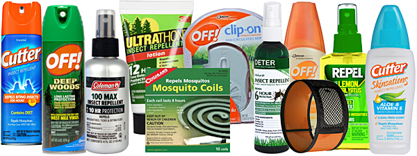 Deter Compared to Other Insect Repellents
